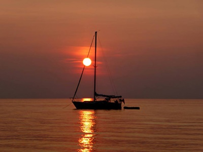 Sunset Sail <i>- by Cathy Contant</i>