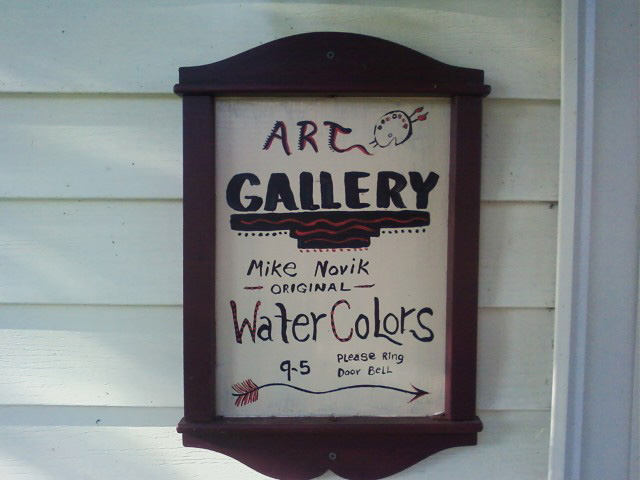 Mike Novik Water Color Gallery